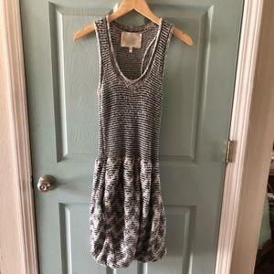 🆕 Bubble hem sweater knit tank dress